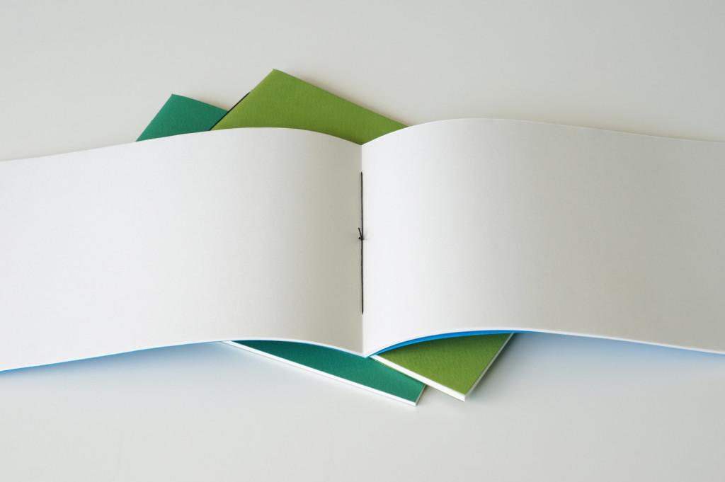 handgebundene Hefte - Bindung - aus-papier.de