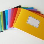 handgebundene Hefte - Querformat - aus-papier.de