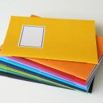 handgebundene Hefte - verschiedene Farben - aus-papier.de